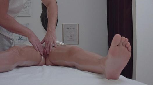 Blonde came for a massage 4   Czech Massage 356