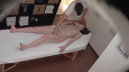 Slim model fucks the masseuse 2 | Czech Massage 357