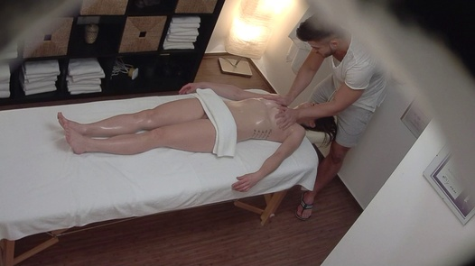 Young brunette came for a massage 3 | Czech Massage 368