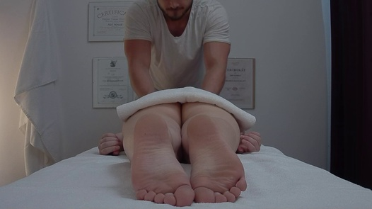 Cute blonde fucks the masseuse | Czech Massage 375