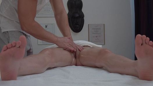 Cute brunette fucks the masseuse 2 | Czech Massage 376