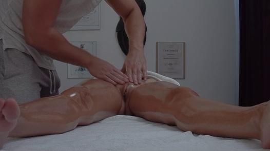 Beautiful blonde squirts during a massage | Czech Massage 381