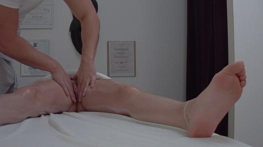 Cute brunette gets the massage of her dreams | Czech Massage 382