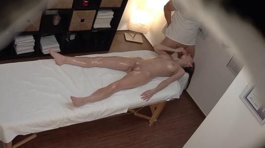 Slim model gets the massage of her dreams   Czech Massage 384