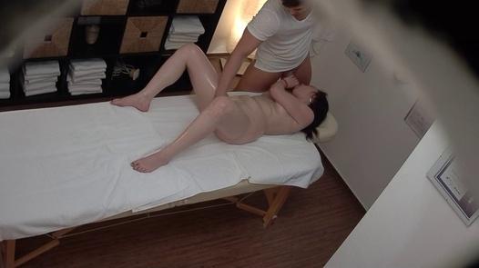 Likable brunette fucks the masseuse   Czech Massage 388