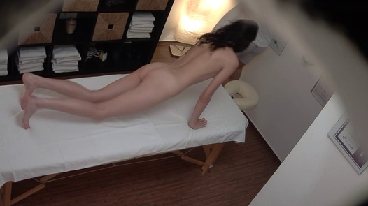 Young model came for a massage | Czech Massage 389