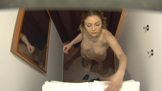 Blonde beauty came for a massage | Czech Massage 390