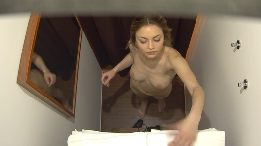 Blonde beauty came for a massage | Czech Massage 390