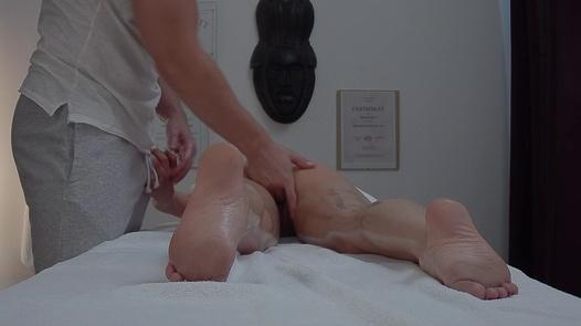 Longhaired brunette fucks the masseuse 5 | Czech Massage 391