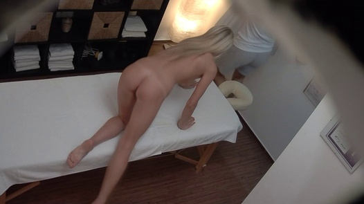 Beautiful 18 y/o fucks the masseuse | Czech Massage 393