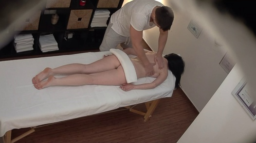 Longhaired model came for a massage | Czech Massage 394