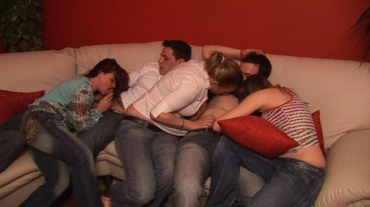 60 people in one pile 1 | Czech Mega Swingers 3 part 1