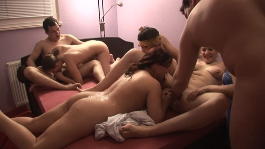 60 people in one pile 1 | Czech Mega Swingers 3 part 1