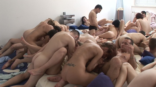 60 people in one pile 4 | Czech Mega Swingers 3 part 4