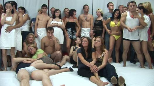 Big tits everywhere 1   Czech Mega Swingers 8 part 1
