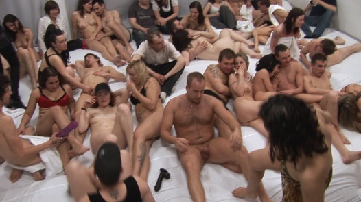 Group sex withe most beautiful Czechs 5   Czech Mega Swingers 12 part 5