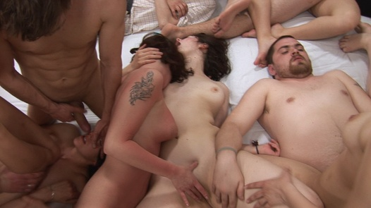 Group sex withe most beautiful Czechs 5 | Czech Mega Swingers 12 part 5