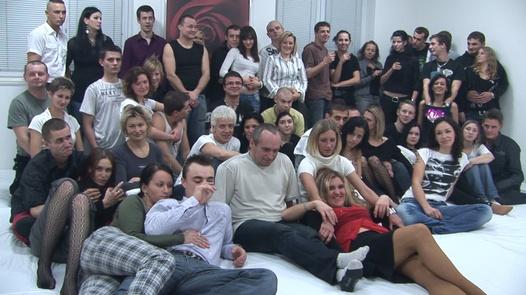 Amateur group orgy 1