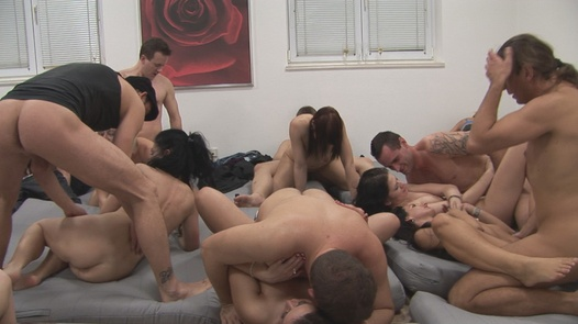 New Year's Eve group massacre 3 | Czech Mega Swingers 15 part 3