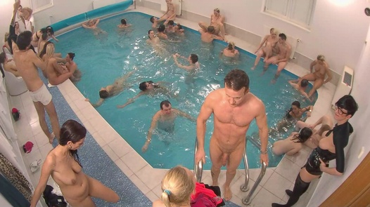 The biggest underwater fucking orgy | Czech Mega Swingers 17 part 4
