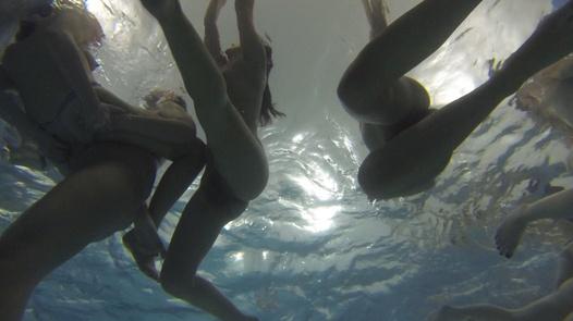 The biggest underwater fucking orgy | Czech Mega Swingers 17 part 4