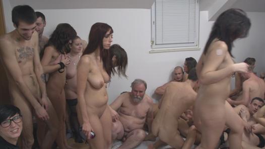The biggest amateur group sex | Czech Mega Swingers 17 part 6