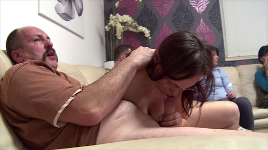 Big natural tits and the hairiest pussy   Czech Mega Swingers 18 part 2