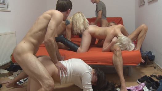 The kinkiest group orgy ever