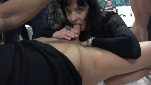Mature nympho sucks cocks dry | Czech Mega Swingers 20 part 6