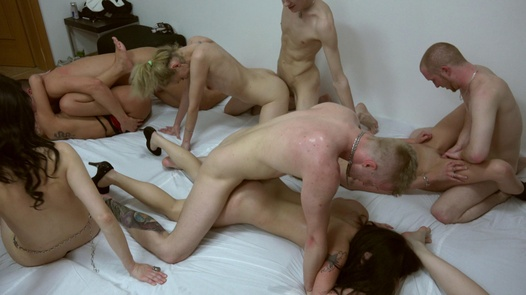 Super orgy with beautiful amateurs | Czech Mega Swingers 20 part 9
