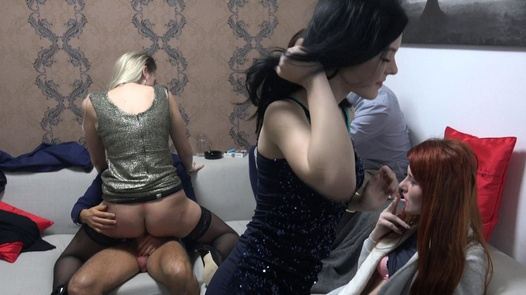 Young beauty with natural tits | Czech Mega Swingers 21 part 3