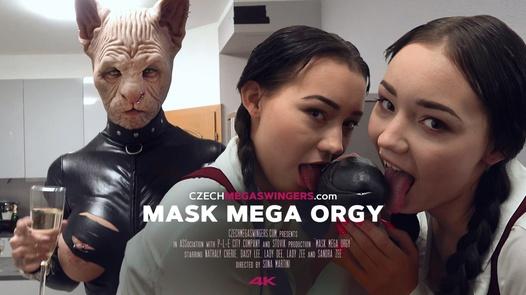 Mask mega orgy