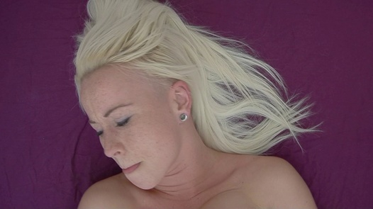 Blonde plays with her pussy 2   Czech Orgasm 39