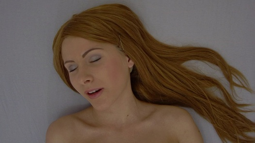 Red-haired princess   Czech Orgasm 66