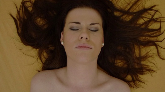 Brunette explores her body 3   Czech Orgasm 95