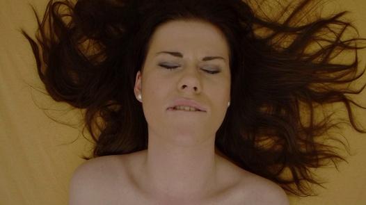 Brunette explores her body 3