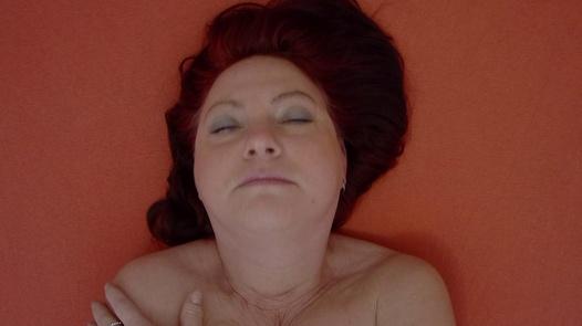 Mature woman pleases herself 2   Czech Orgasm 100