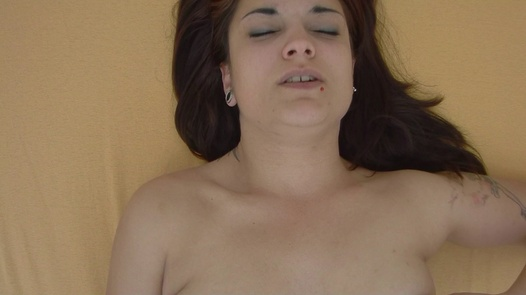 Busty brunette playing with her pussy | Czech Orgasm 127