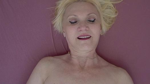 Ecstatic mature woman 2