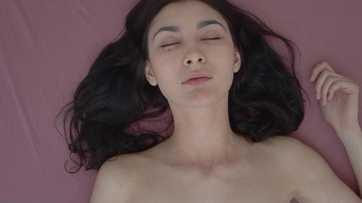 Model rubbing her pussy   Czech Orgasm 151