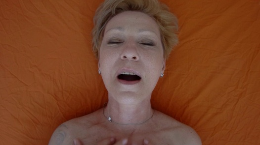 Mature woman pleases herself 3   Czech Orgasm 168