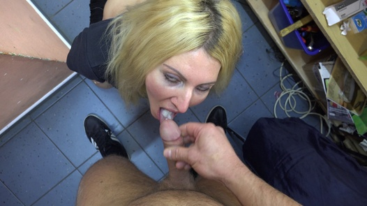 The busty blonde needs to pay the rent | Czech Pawn Shop 3