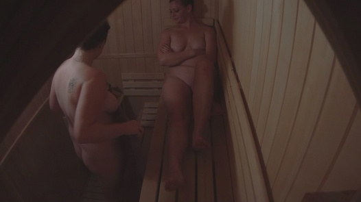 Young and busty   Czech Sauna 20