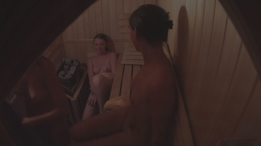 MILF and two 18 y/o | Czech Sauna 25
