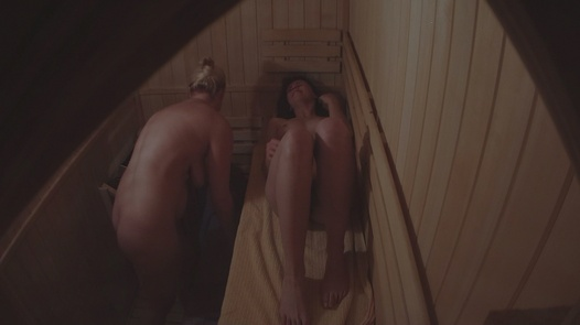 Busty blonde and sexy brunette | Czech Sauna 41