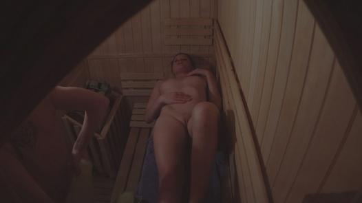 Friends getting hot 5 | Czech Sauna 44