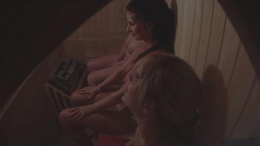 Three juicy pussies 2   Czech Sauna 46