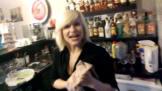 Secret mission - horny bartender | Czech Spy 3