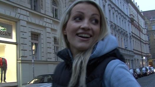 czech streets anal blonde