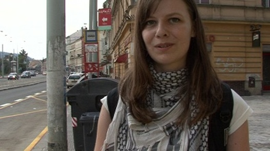 Linda and her huge natural tits | Czech Streets 26